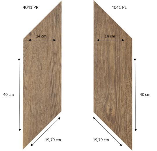 4041 PR-PL Classic Fine Oak PRO размеры