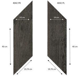 4042 PR-PL Black Fine Oak PRO размеры thumb