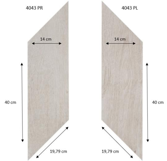 4043 PR-PL White Fine Oak PRO