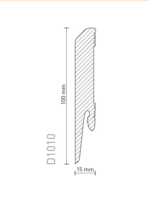 Плинтус Arbiton Dora D1010
